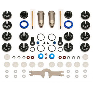 Associated 12mm Big Bore Shock Kit Sc10/t4 All Versions Front