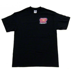 BYRON ROTOR RAGE T-SHIRT BLACK LARGE