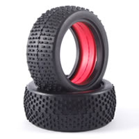 Fastrax 1/10 Buggy Race Tyres (h Pattern) W/mould Insert (f)