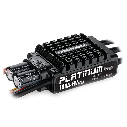 HOBBYWING PLATINUM PRO 100A OPTO HV V3 SPEED CONTROLLER