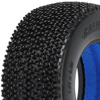 PROLINE 'CALIBER' SC M4 TYRES W/CLOSED CELL INSERTS