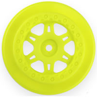 Pro-Line 'Split Six' Wheels For Protrac Susp. Set Slash Yellow