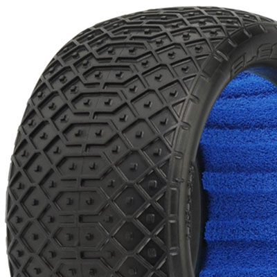 "Pro-Line 'electron' Vtr 2.4"" Mc 1/10 Off Road Buggy Rear Tyres"