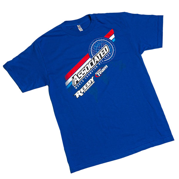 TEAM ASSOCIATED AE 2016 WORLDS T-SHIRT BLUE (S)