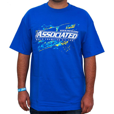 Team Associated Ae Splash T-shirt Blue (medium)