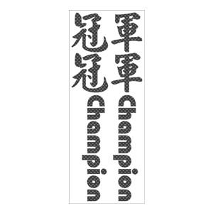 XXX MAIN ORIENTAL CHAMP KIT CARBON FIBRE