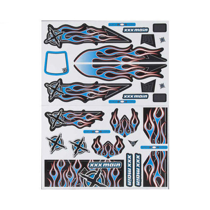 XXX MAIN DARKSTAR TRUGGY X-WRAPZ BLUE/RED