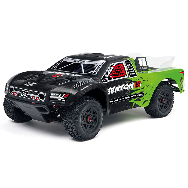 ARRMA SENTON 6S BLX 4WD 1/8 SHORT COURSE TRUCK RTR GRN/BLK