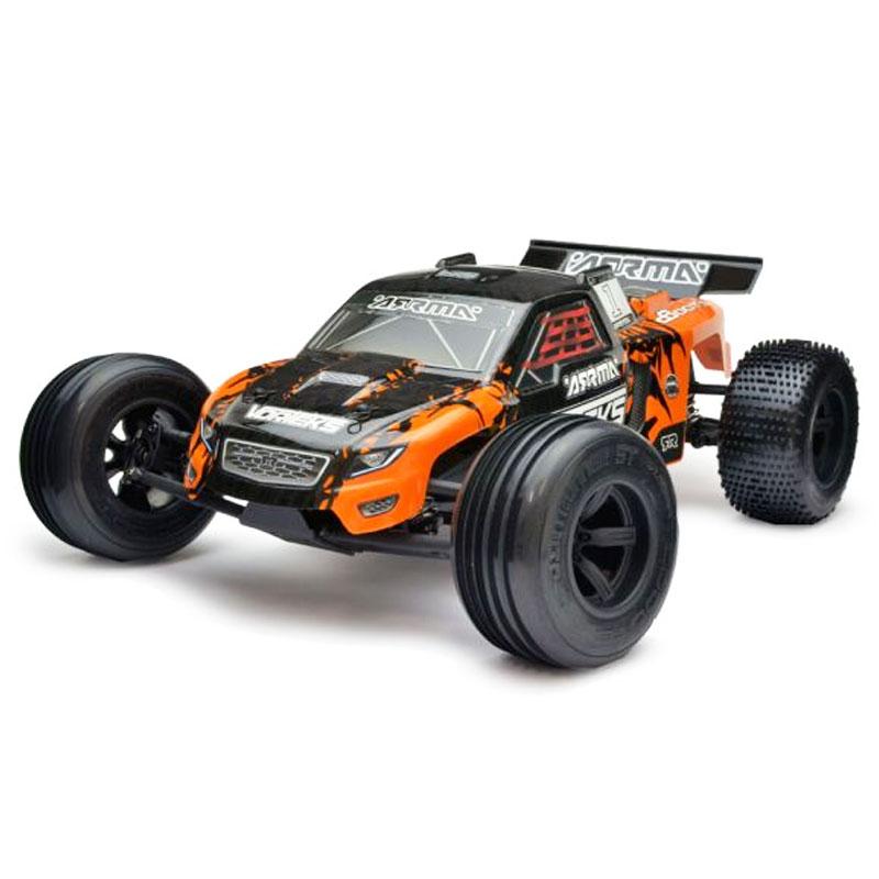 ARRMA VORTEK MEGA 1/10 2WD RACE TRUCK RTR ORG/BLK