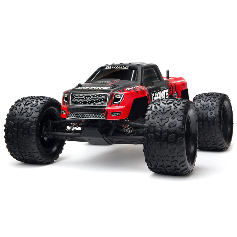 ARRMA GRANITE MEGA 1/10 2WD MONSTER TRUCK RTR RED/BLK