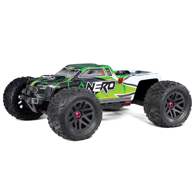 ARRMA NERO 6S BLX 4WD 1/8 MONSTER TRUCK RTR BLUE GREEN