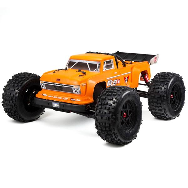 ARRMA OUTCAST 6S BLX 4WD 1/8 STUNT TRUCK RTR ORANGE
