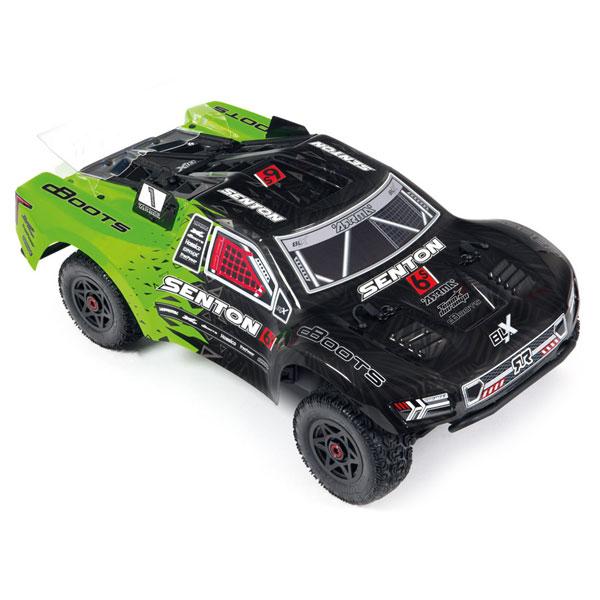 ARRMA BODY GREEN BLACK II SENTON 6S
