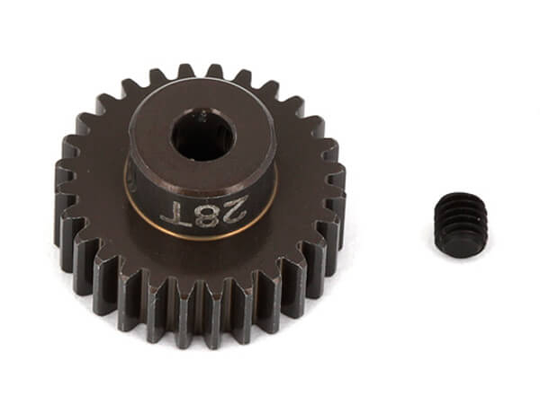 ASSOCIATED FACTORY TEAM ALUM. PINION GEAR 28T 48DP 1/8