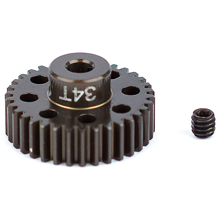ASSOCIATED FACTORY TEAM ALUM. PINION GEAR 34T 48DP 1/8