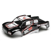 Team Associated Sc18 RTR Bodyshell Black