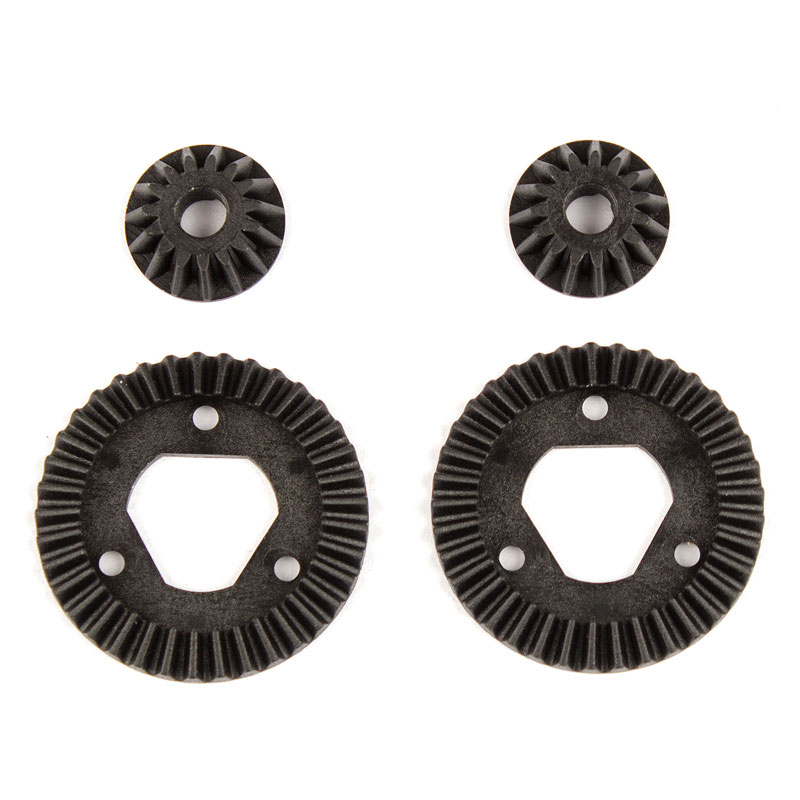 ASSOCIATED REFLEX 14B/14T RING & PINION SET 37T/15T