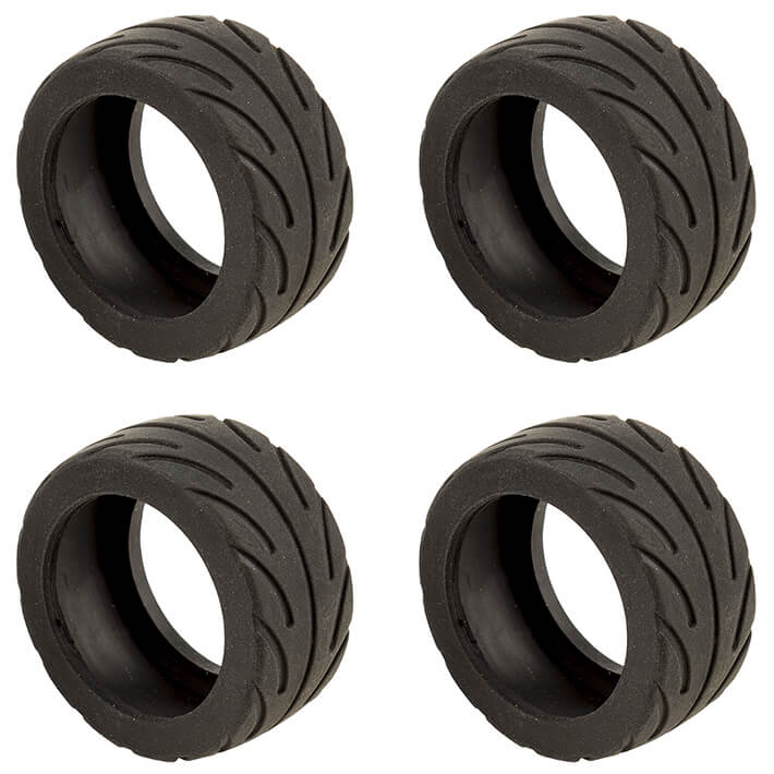TEAM ASSOCIATED NANO SPORT RADIAL TYRES BLACK (4)