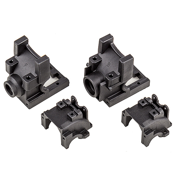TEAM ASSOCIATED RIVAL MT10 FRONT AND REAR GEARBOXES