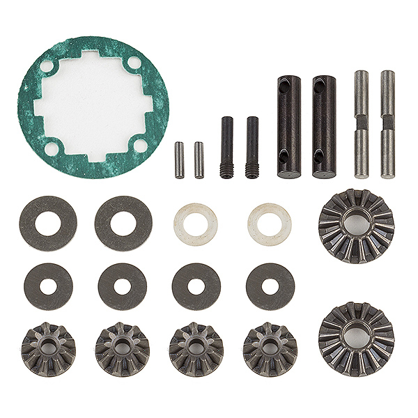 TEAM ASSOCIATED RIVAL MT10 FRONT OR REAR DIFF REBUILD KIT