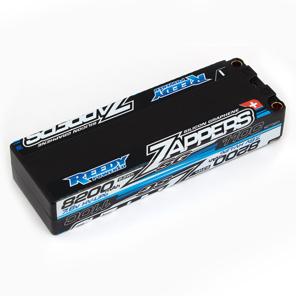 REEDY ZAPPERS 'SG' 8200MAH 2S 110C 7.6V STICK LIPO BATTERY