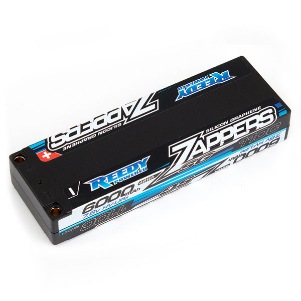 REEDY ZAPPERS 'SG' 6000MAH 2S LP 110C 7.6V STICK LIPO BATTERY