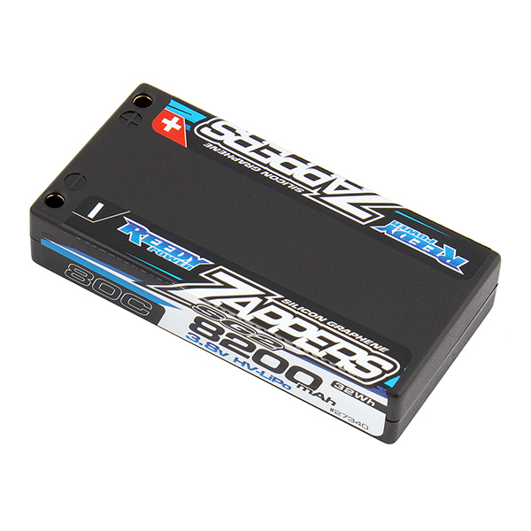 REEDY ZAPPERS 'SG2' 8200MAH 1S 80C 3.8V SHORTY LIPO BATTERY