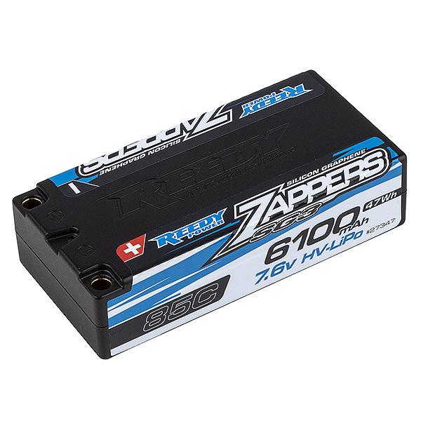 REEDY ZAPPERS 'SG3' 6100MAH 85C 7.6V SHORTY LIPO BATTERY