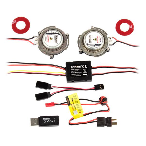 ASSOCIATED ESS-AIR+ ENGINE SOUND SYSTEM
