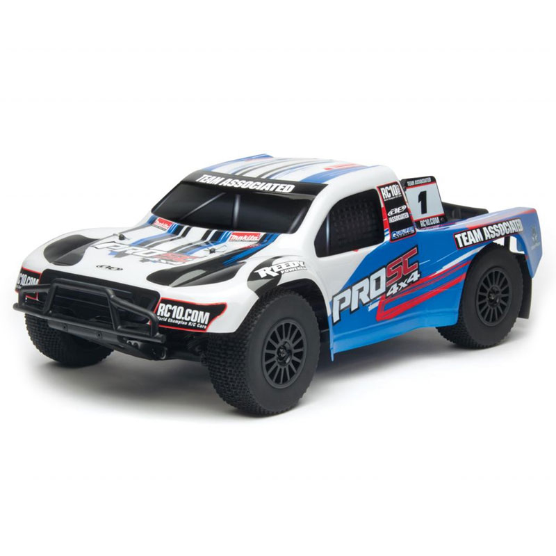 TEAM ASSOCIATED AE QUALIFIER SERIES ProSC 4X4 RTR w/2.4/BRUSHLESS