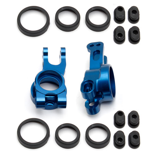 TEAM ASSOCIATED FACTORY TEAM REAR HUBS ALUMINIUM (PR) RC8B3.2
