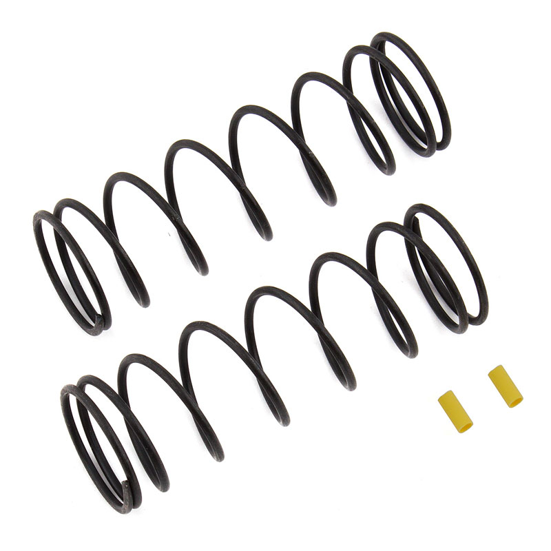ASSOCIATED FRONT SPRINGS V2 YELLOW 5.7LB/IN RC8B3/RC8B3.1/RC8B3.2