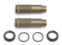 Team Associated RC8 Threaded Rear Shock Body With Collars And O-Rings