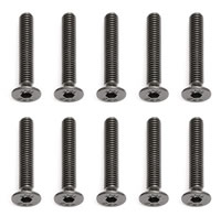 Team Associated FHCS 3x18mm Screws (10)