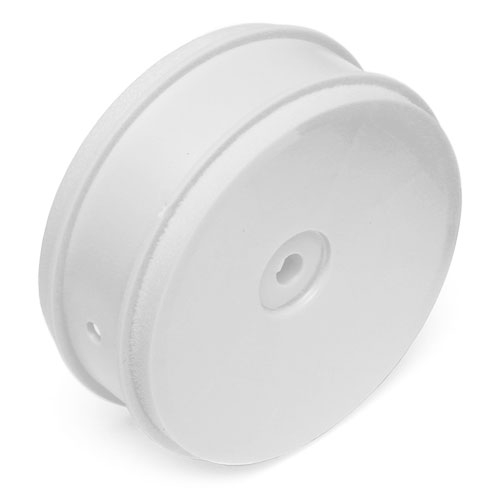 ASSOCIATED 61mm BUGGY FRONT 2WD WHEEL HEX 12mm WHITE FOR 2.4