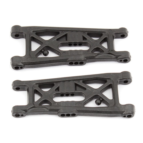 ASSOCIATED B6/B6D FLAT FRONT ARMS, HARD (B6.1)