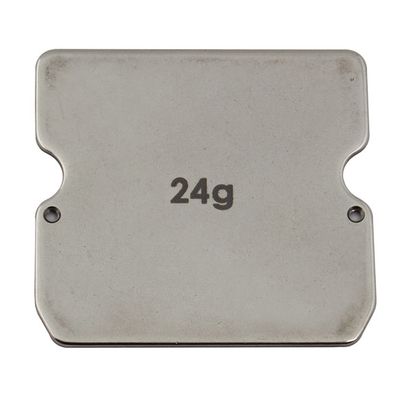 ASSOCIATED B6/B6.1 STEEL CHASSIS WEIGHT 24G