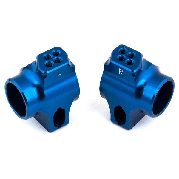 ASSOCIATED B6/B6.1 FACTORY TEAM BLUE ALUMINIUM REAR HUBS FOR 67MM