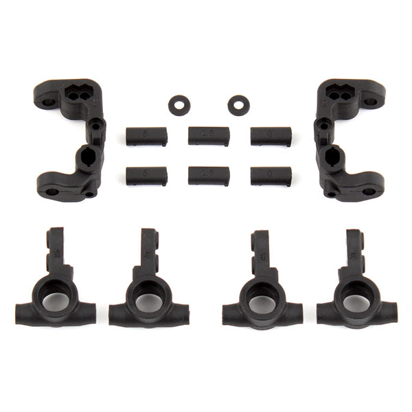 TEAM ASSOCIATED B6.1 CASTER AND STEERING BLOCKS