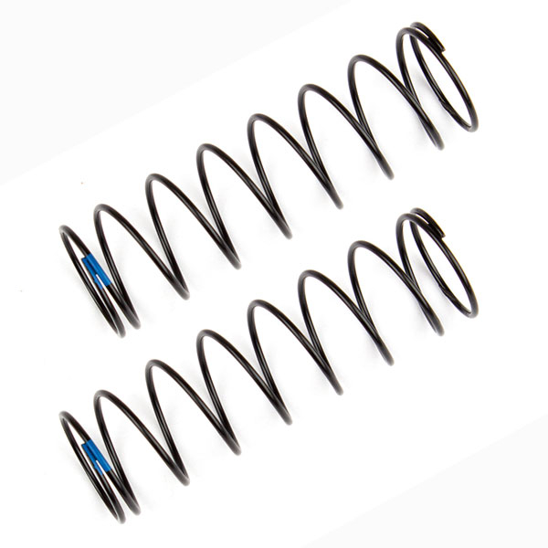 TEAM ASSOCIATED REAR SHOCK SPRINGS BLUE 2.20 LB/IN L61MM