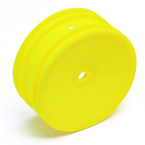 TEAM ASSOCIATED BUGGY FRONT WHEEL HEX YELLOW (B4.2/B5/B5M/B6/B6D)