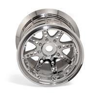 Axial Racing 8 Spoke Oversize Bead Lock Wheel - Chrome (2)