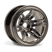 Axial Racing 2.2 Rockster Beadlocks - Black Chrome