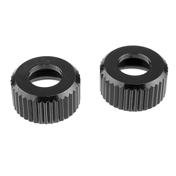 CORALLY SHOCK BODY CAP LOWER ALU. 2 PCS