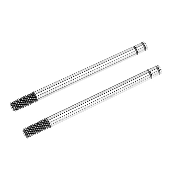 CORALLY SHOCK SHAFT FRONT STEEL 2 PCS