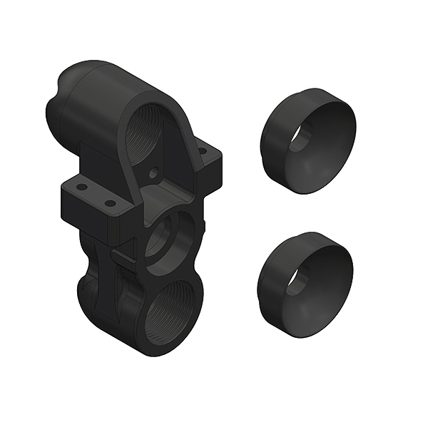 CORALLY STEERING BLOCK PILLOW BALL CUP (2) FRONT COMPOSITE 1 SET