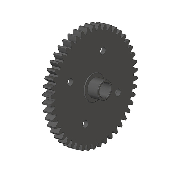 CORALLY SPUR GEAR 46T STEEL 1 PC