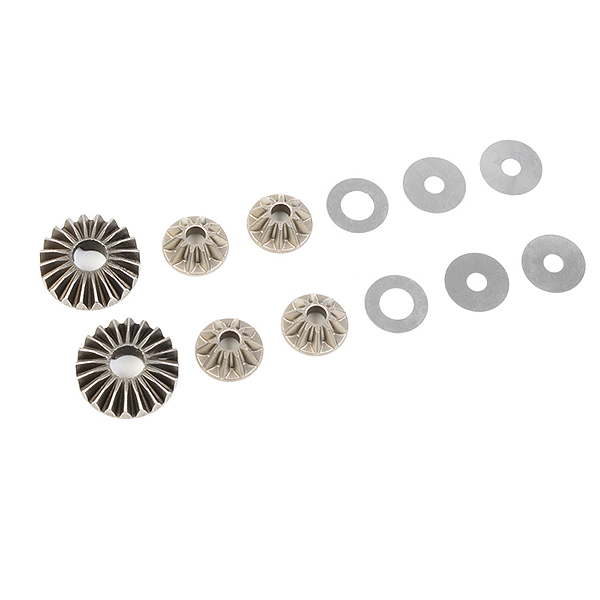 CORALLY PLANETARY DIFF. GEARS STEEL 1 SET