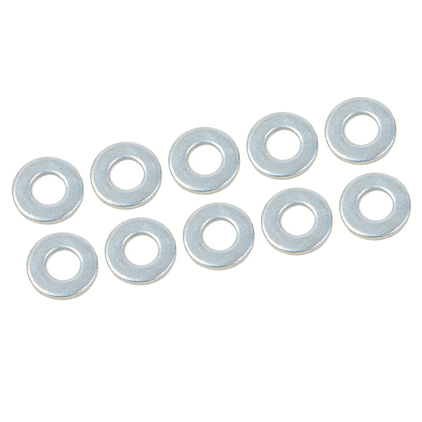 CORALLY SHOCK WASHER 2.5X6X0.5MM STEEL 10 PCS
