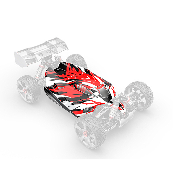 CORALLY POLYCARBONATE BODY PYTHON XP 6S PAINTED CUT 1 PC